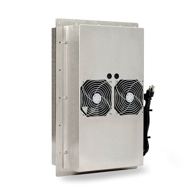 ThermoTEC™ 145 Series - 1500 BTU Thermoelectric Air Conditioner - Front View, Left Side