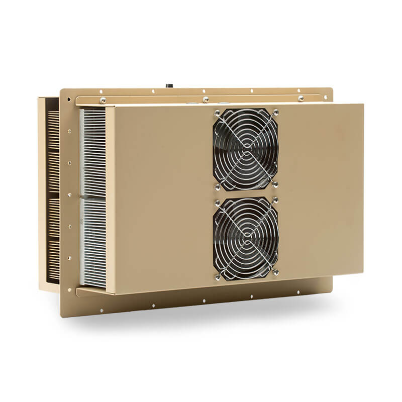 1500 BTU Military Grade Thermoelectric Air Conditioner - Rear View, Left Side