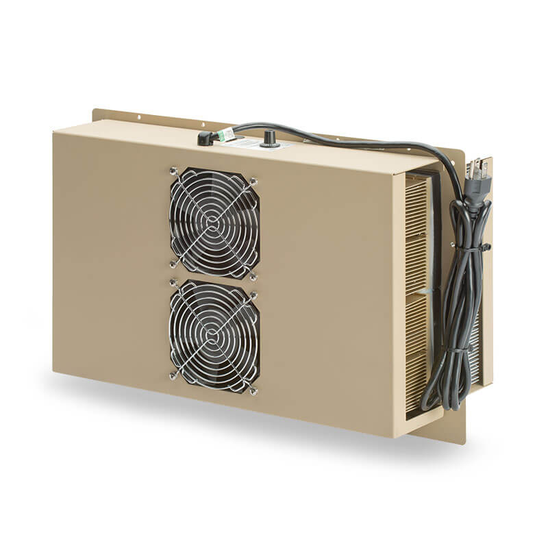 ThermoTEC™ 145 Series - 1500 BTU Military Grade Thermoelectric Air Conditioner - Front View, Right Side