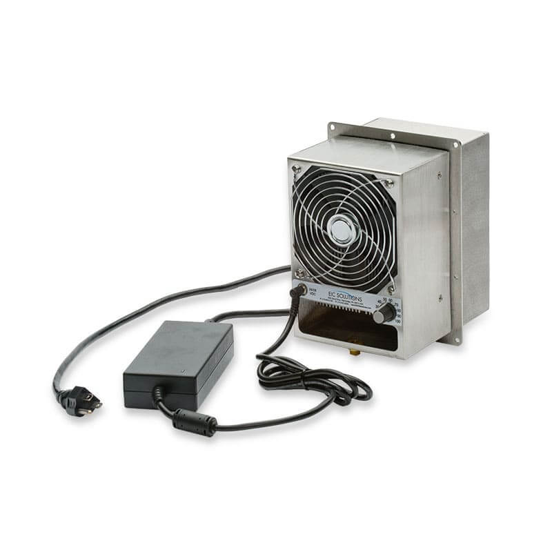 ThermoTEC™ 120 Series - 200 BTU Thermoelectric Air Conditioner - Front View, Right Side
