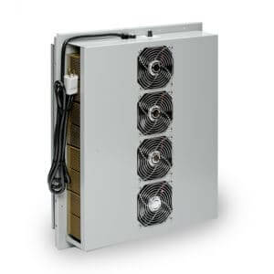 ThermoTEC™ 161B Series - 3500 BTU Thermoelectric Air Conditioner - Front View, Left Side