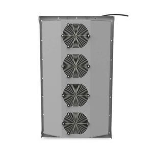ThermoTEC™ 170 Series - 5500 BTU Thermoelectric Air Conditioner - Rear View