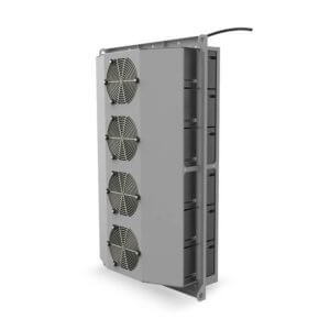 ThermoTEC™ 170 Series - 5500 BTU Thermoelectric Air Conditioner - Rear View, Right Side