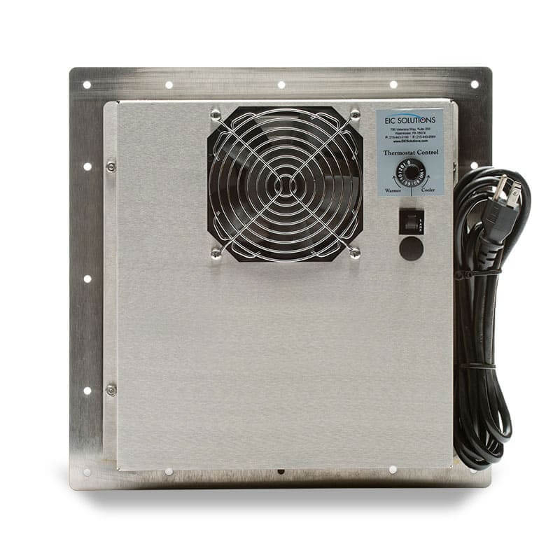 ThermoTEC™ 141 Series - 800 BTU Thermoelectric Air Conditioner - Rear View