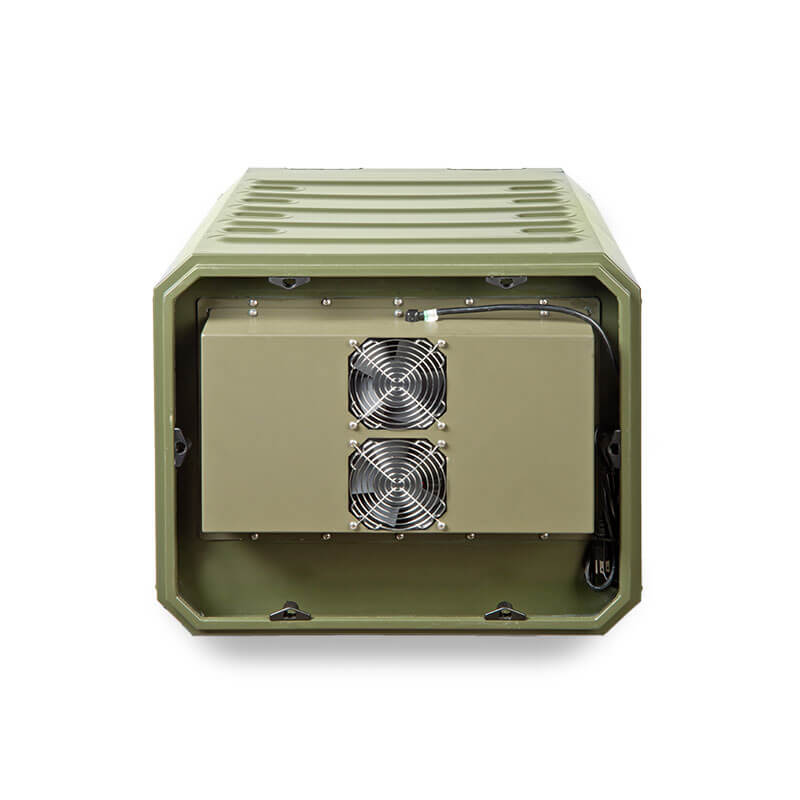 Defender™ Aluminum Series Air Conditioned Transit Case - Front View