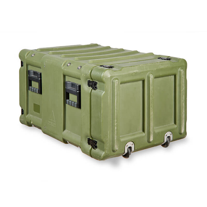 Defender™ Rotomolded Series Air Conditioned Transit Case - Rear View, Right Side